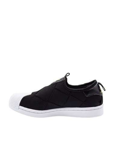 adidas Kadın Superstar Slip on Sneakers 285925 Siyah